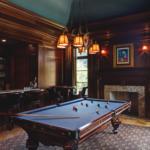 manly billiard room