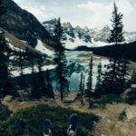 mountain lake view