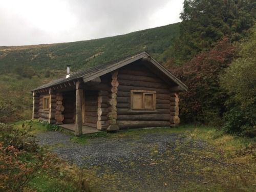 hibernating cabin