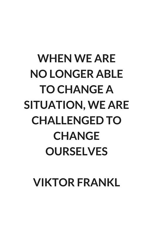 change ourlselves