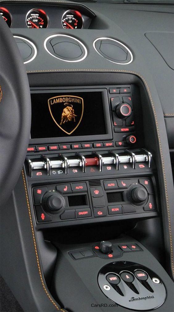 Lamborghini dash
