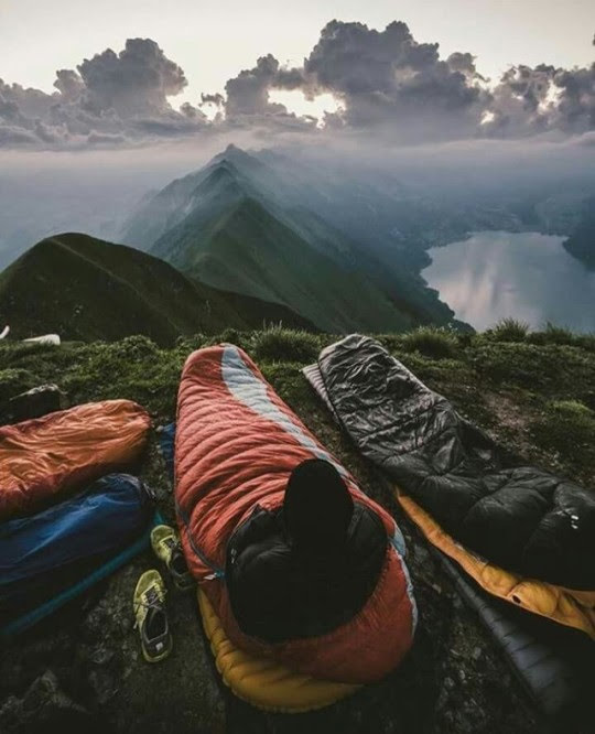 top of the world camping