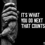 what you do next