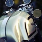 cafe style motorcycle