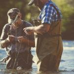 fly fishing buddies