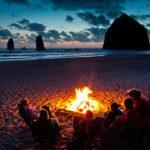 pacific coast campfire