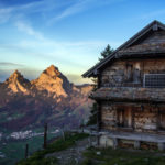 rugged cabin