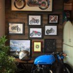 blue cafe honda