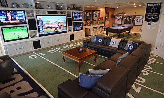 dallas cowboys game room