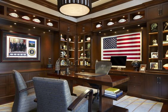 manly patriotic office