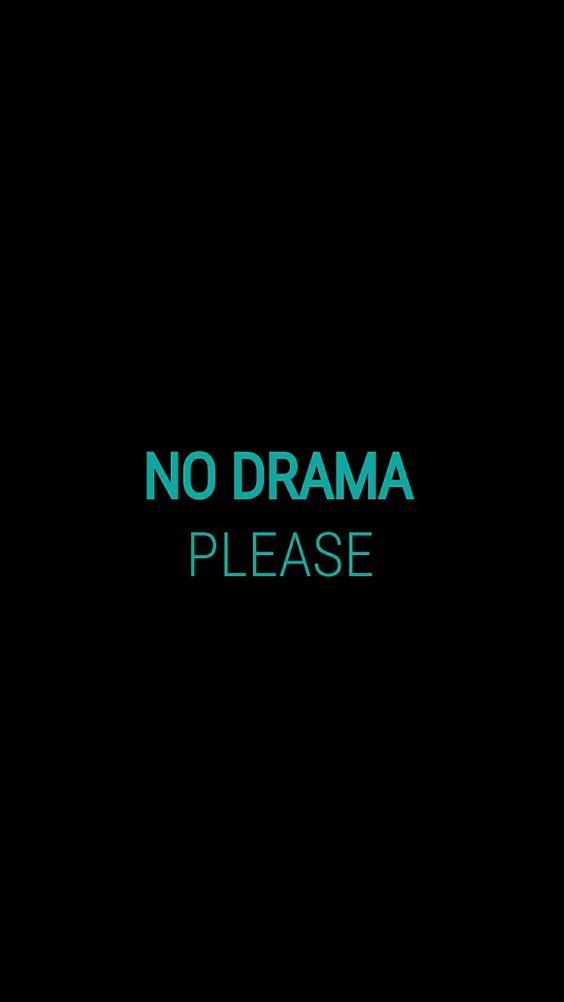 no dram please