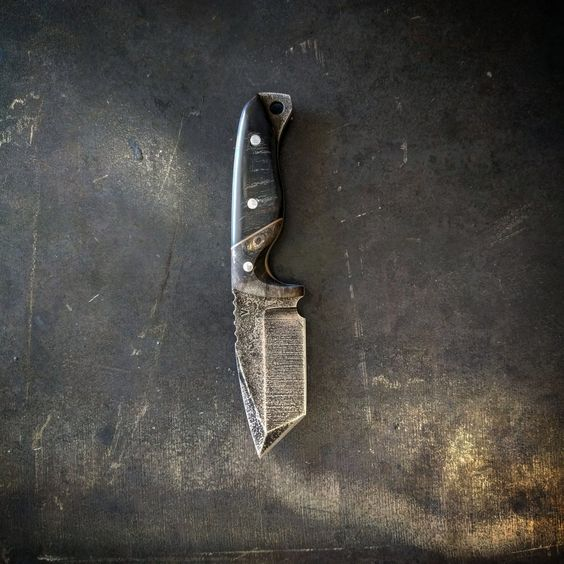 rustic knife