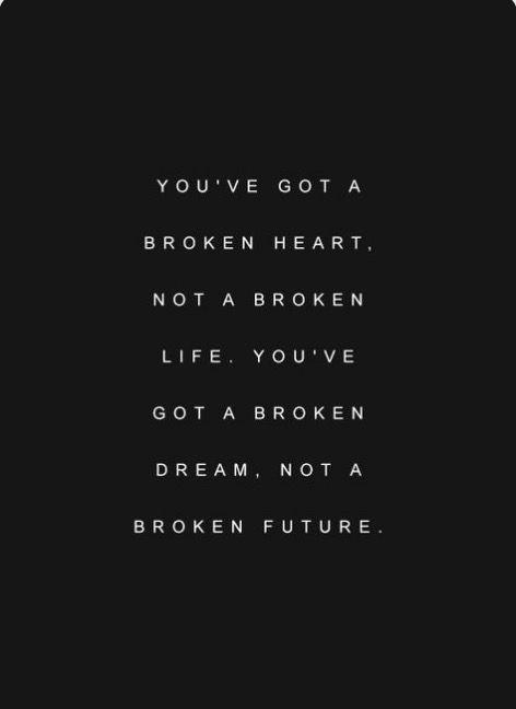 not a broken life