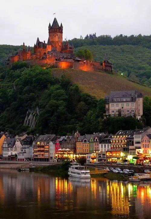 mountain top castle
