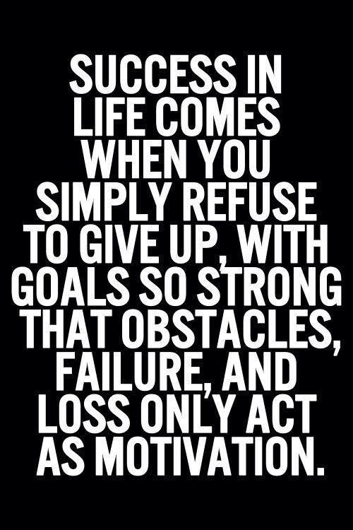 strong goals