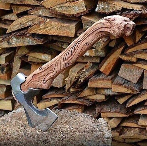 custom axe handle