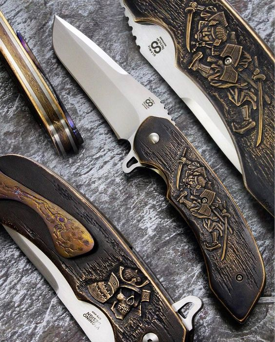 custom pocket knives