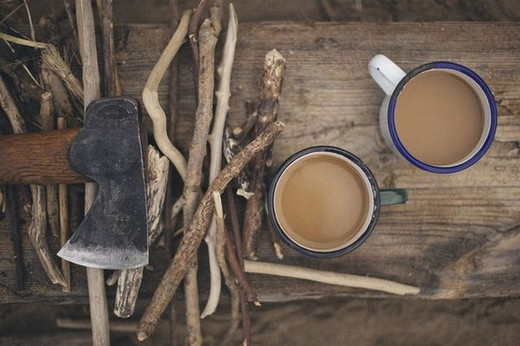 coffee and axe