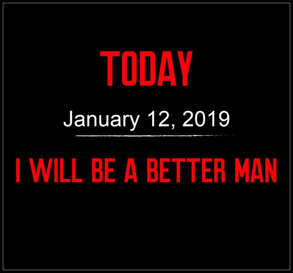 better man 1-12-19