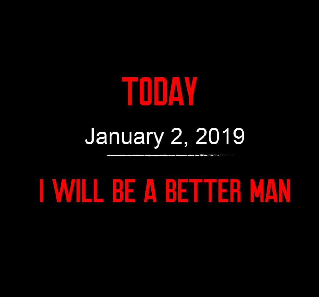 better man 1-2-19