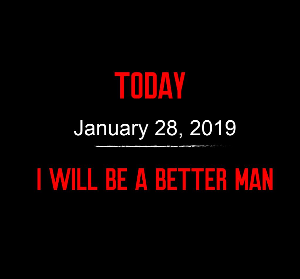 better man 1-28-19