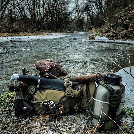 manly gear by river