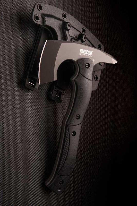 black handled ax