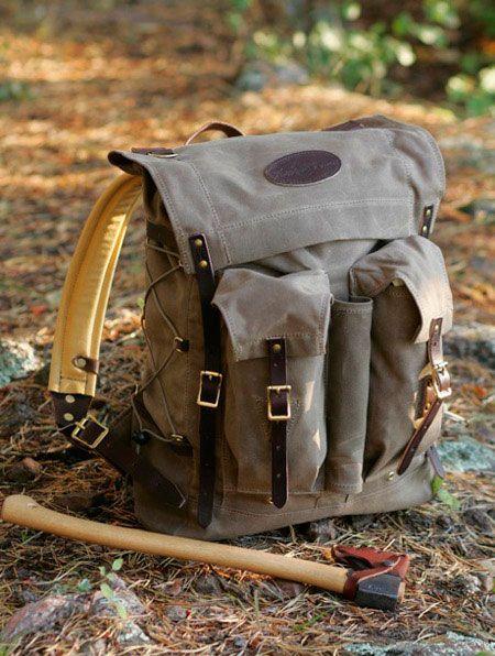 canvas backpack for men