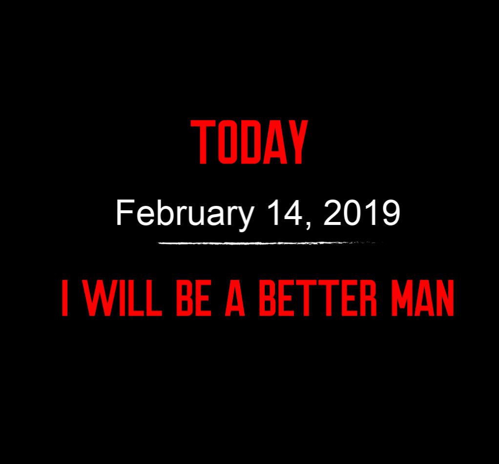better man 2-14-19
