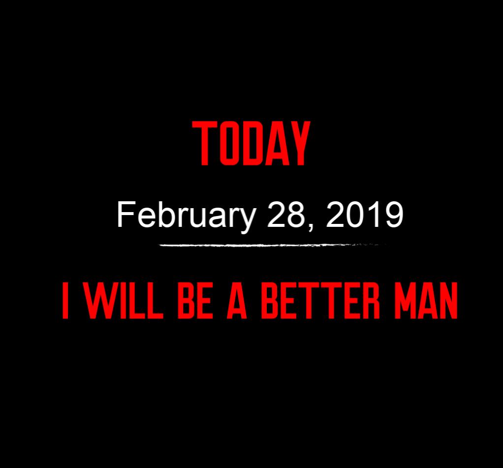 better man 2-28-19