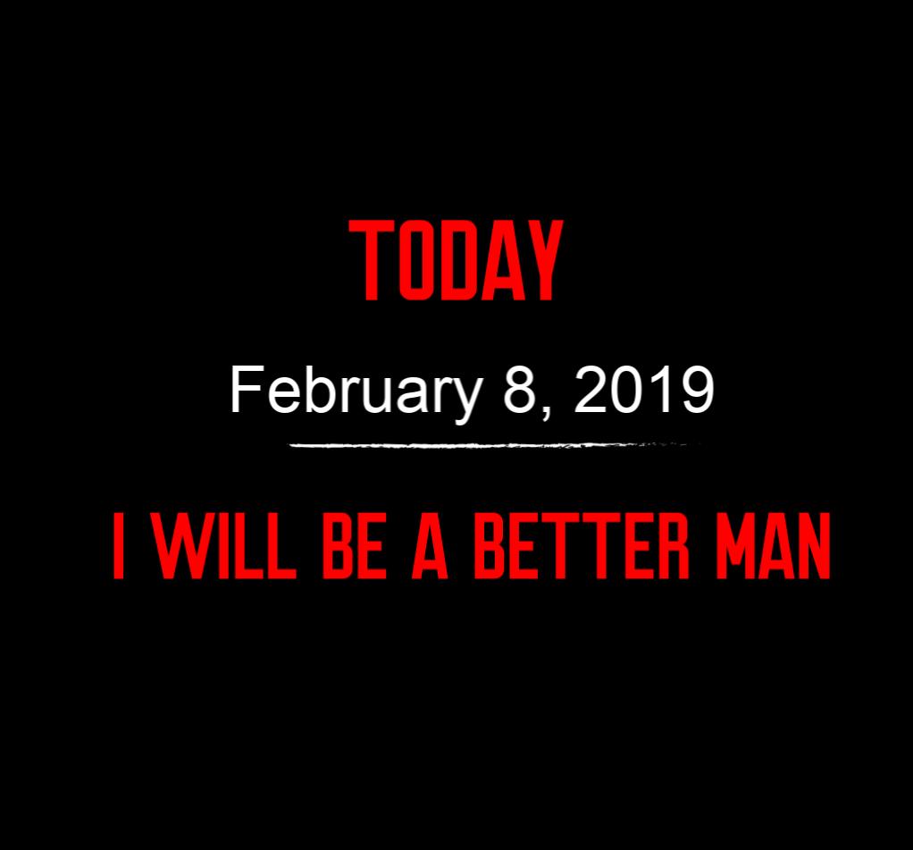 better man 2-8-19