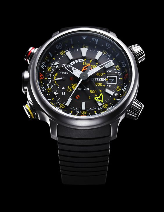Citizen Altichron Analog Altimeter Compass