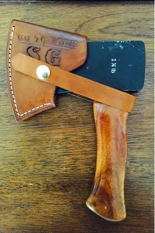 Lost River Leather - Mini Hatchets with custom handles