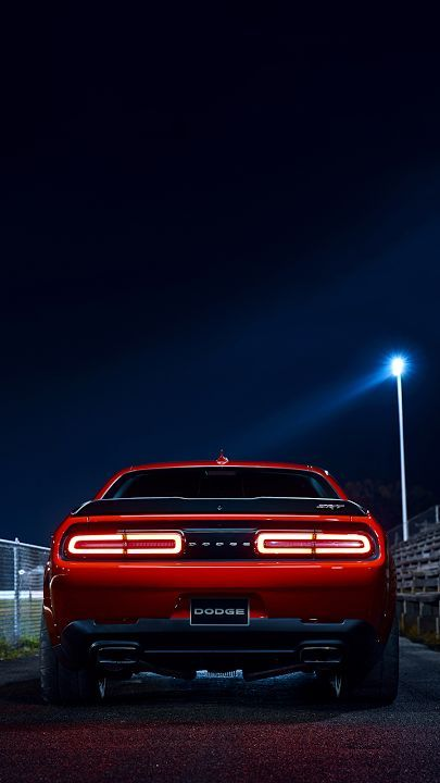 dodge muscle car