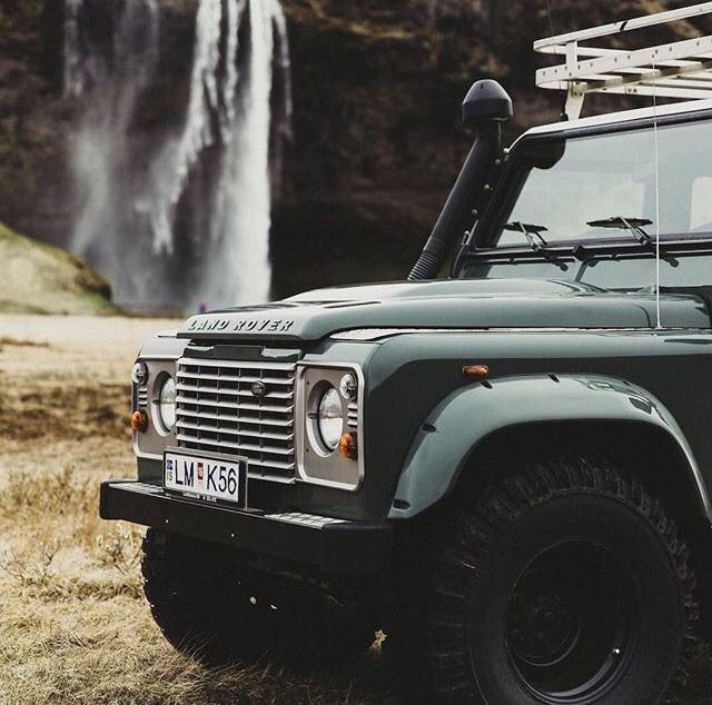 land rover front end