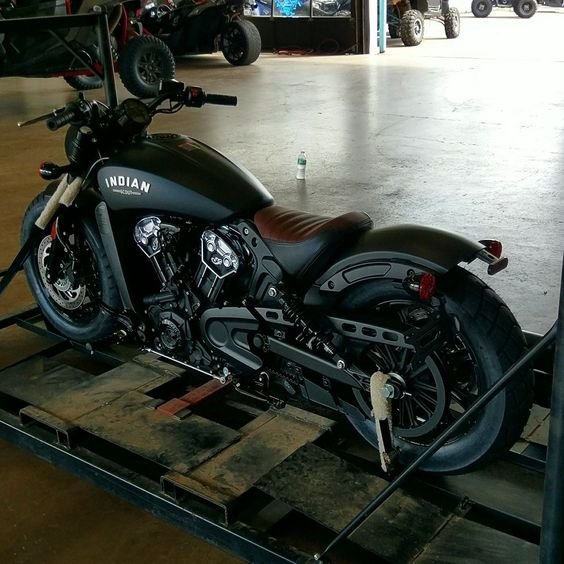2018 Indian Scout Bobber straight from the crate