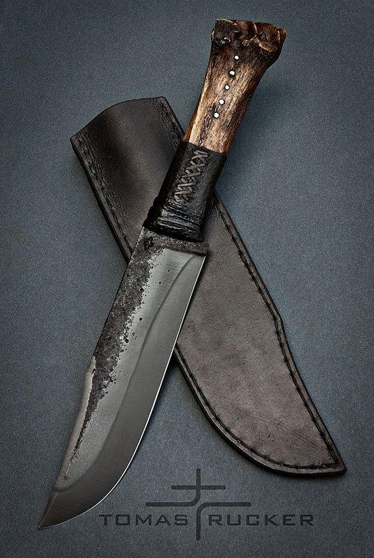 Custom Handmade Knives - Tomas Rucker2