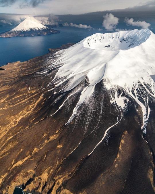 Mount Herbert - Mt Cleveland in the background - Alaska