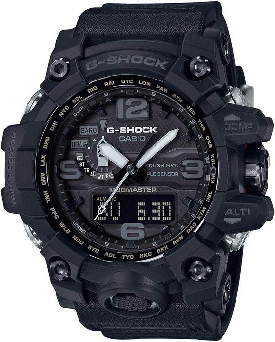 G-Shock BABY G Mudmaster Resin Casio Ana Digi Watch - 56mm