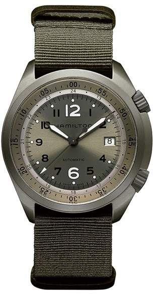 Hamilton Mens Khaki Pilot Pioneer Automatic Watch 41mm