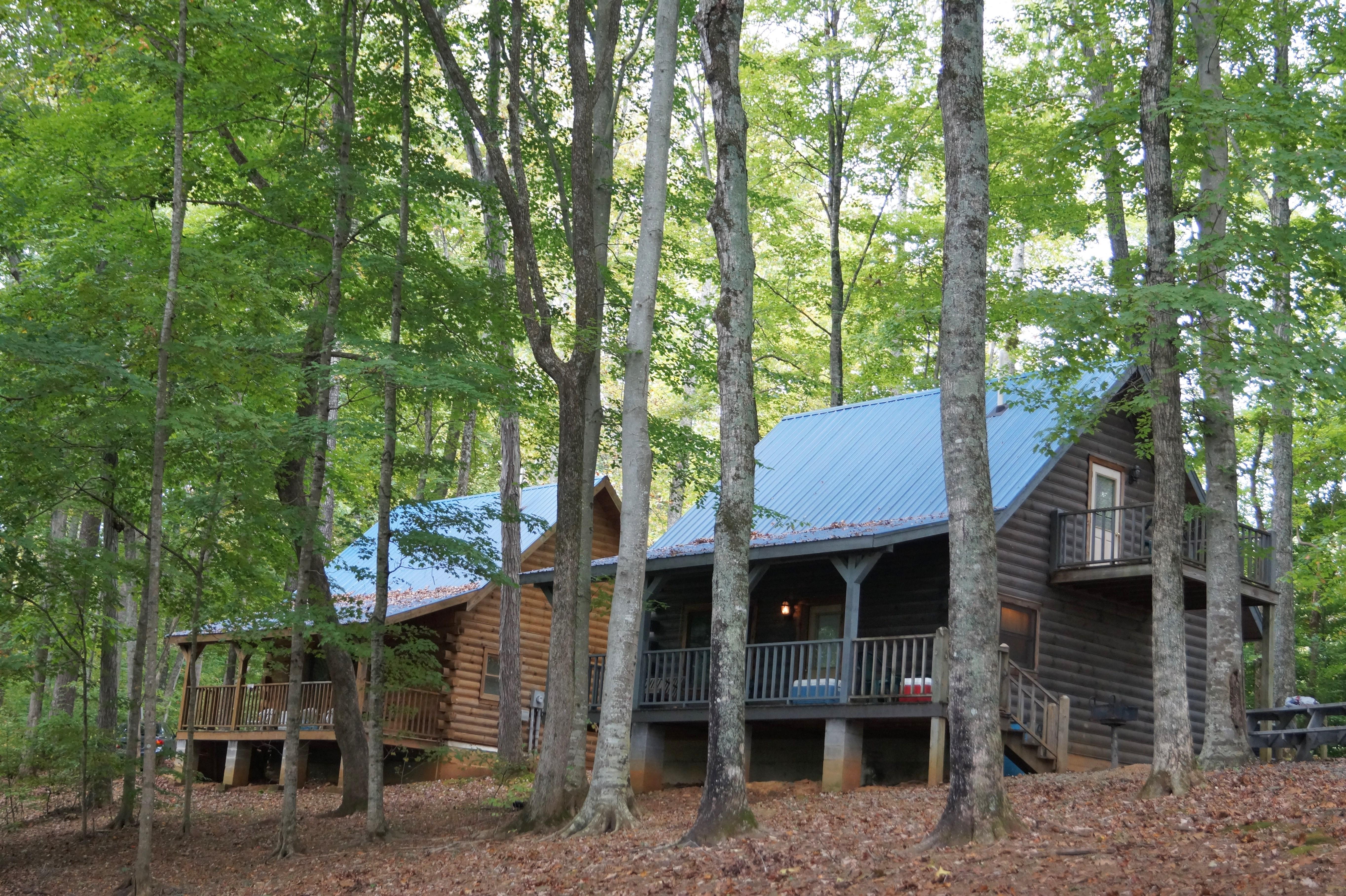 Jamestown Marina cabins