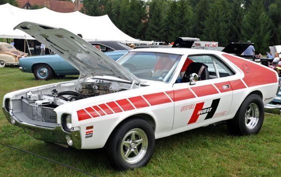 amx race car hurst shifter
