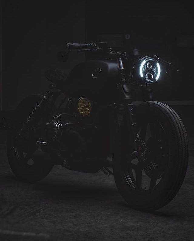 murdered motorcycle