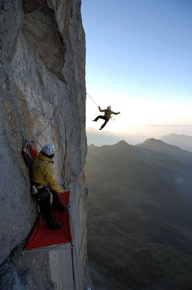 Climbing Eiger North Face