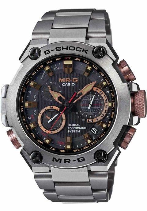 G-Shock MR-G GPS Atomic Solar Hybrid MRG-G1000DC-1A