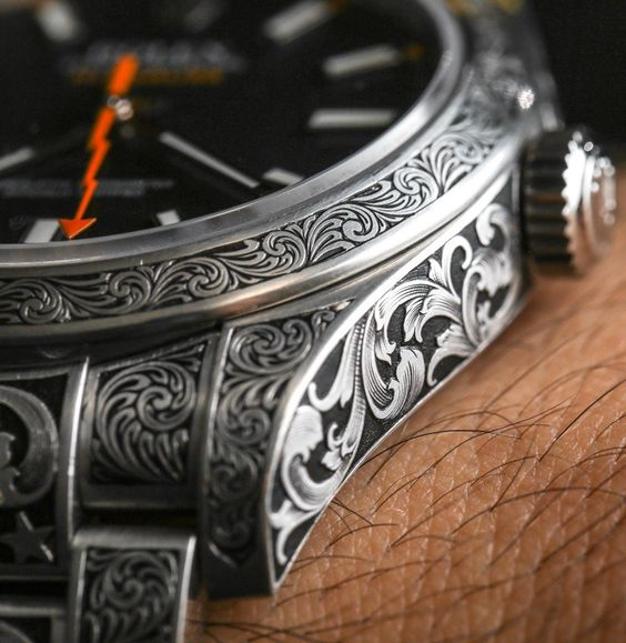 Rolex Milgauss 116400 Engraved By MadeWorn