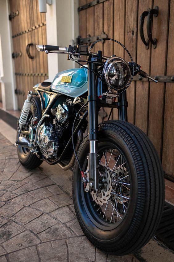 Yamaha SX225 Cafe Racer by Jowo Kustom