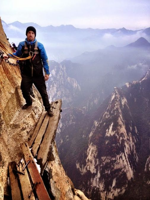 high mountain adventure