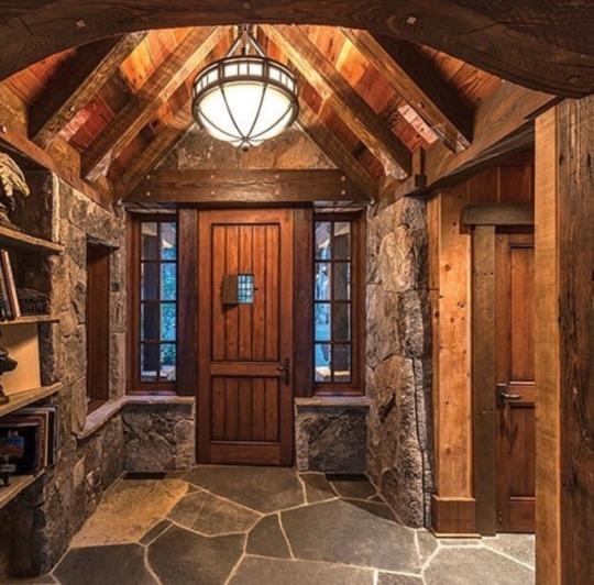 masculine interior entry design