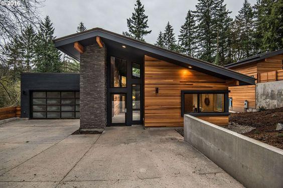 west coast contemporary home